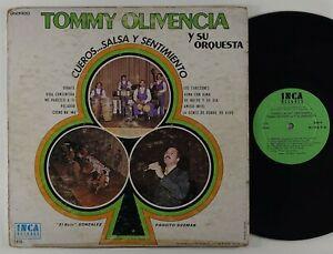 """Tommy Olivencia Y Su Orq. """"Cueros..Salsa Y Sentimiento"""" Latin Guaguanco LP Inca"""