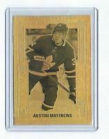 AUSTON MATTHEWS 2018-2019 Tim Hortons Gold Etchings #GE-2