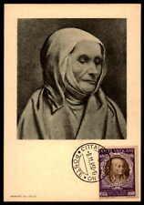 Vatican MK 1950 Concilio Trento Concile maximum carta carte MAXIMUM CARD MC cm dc49