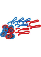 Spider-Man Disc Shooters Party Favours Pk8