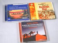 3 CDs - Hörbücher Paket - Hörbuch Abenteuer Reisen für Jugendliche Wüste Wissen