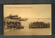 1916 England Field Post Office Postcard Cover to Scotland from Egypt Mef