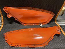 2010-2015 Chevrolet Camaro OEM Door Inserts ABL Ambient Light Panels Orange -2SS