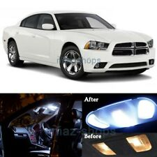 16x White SMD Interior LED Lights Package Kit for 2011-2014 Dodge Charger MP