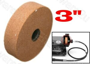 """Mini Bench Grinder Replacement Grinding Stone Wheel 3"""" (GSW75-120)"""