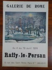 Affiche Raffy le Persan