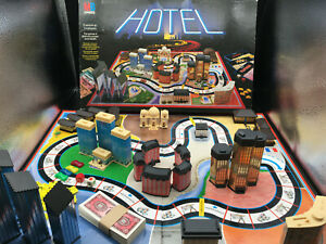 Hotel Board Game MB Games Complete  One and Half lamposts 1986