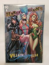 Harley Quinn: Villain Of The Year #1 Signed J Scott Campbell Cover B Variant NM+
