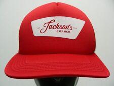 JACKSON'S CORNER - TRUCKER STYLE ADJUSTABLE SNAPBACK BALL CAP HAT