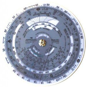 """Jeppesen 6"""" CR3 Circular Computer"""