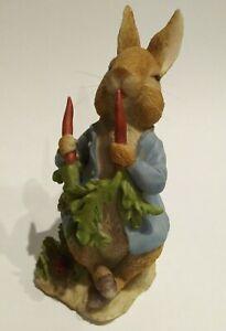 """Beatrix Potter's Peter Rabbit F.W. & Co. Figure Figurine 2002 7"""" Tall"""