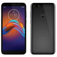 Motorola E6 (16GB) Unlocked Phone - Black
