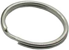 Larger Split ring 20mm stainless steel for pet tags