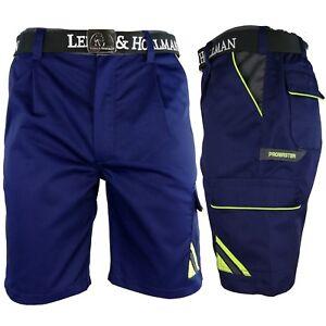 Arbeitshose Kurze Hose Kurz Bermuda Shorts Dunkelblau Gr. S - XXXL Neu