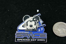 DISNEY PIN MISSION SPACE OPENING DAY 2003 WITH MICKEY MOUSE