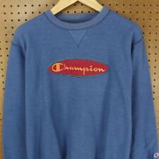 rare vtg reverse print 90's CHAMPION crewneck sweatshirt sz M - L embroidered