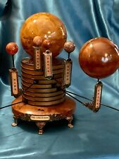 ORDER BY 11/30 FOR XMAS SOLAR SYSTEM MODEL PLANETARIUM ORRERY STEAMPUNK ARTIST