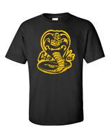 Cobra Kai T Shirt Karate Kid 80s Classic Movie VIntage No Mercy Adult SM-3XL