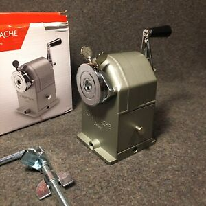 CARAN D'ACHE Pencil Sharpening Machine 455.200 Excellent Cond In Box with Clamp