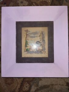 Cable Car, San Francisco signed: Ralph Mapson Serigraph