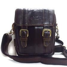 New Brown Mini Messenger Shoulder Bag Waist Pack