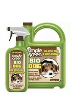 Stain & Odor Remover Enzyme Cleaner for Dog Urine, Feces, Vomit 1 Gal +32 Oz New