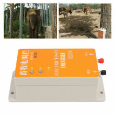 Solar Electric Fence Controller Ranch Orchard Fencing High Pressure Charger 110v