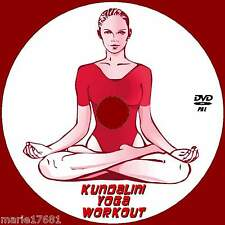KUNDALINI YOGA HEALTHY MEDITATION WORKOUT DVD FLEXIBILITY FITNESS RELAXATION NEW