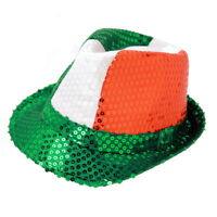 St Patrick Day Party Hat Fashionable Classic Irish Fedora 2170b5740eb7