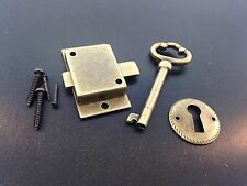 Grandfather Clock Door Lock Key Set Antique Finish
