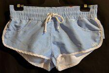 WOMEN'S SHORTS RUSTY BOARD SHORTS STRIPED SIZE 12 NEW RRP $59.99 FREE POSTAGE