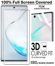Samsung Galaxy Note 10 Note 10 Plus PET Film Screen Protector Curved Black/Clear