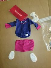 """Authentic 18"""" AMERICAN GIRL DOLL GYMNASTICS OUTFIT CLOTHES NEW"""