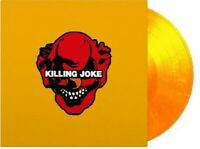 KILLING JOKE-KILLING JOKE (LIMITED  FLAMING VINYL)  DAVE GROHL 2 VINYL LP NEU