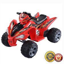 New Kids Ride On ATV Quad 4 Wheeler Electric Toy Car 12V Battery Power Led Light