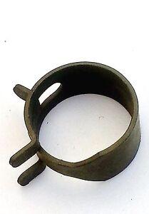 """Cadillac 5/8"""" .63 Gas Hose Olive Pinch Spring Clip Clamp Fuel Pump Sender NOS"""