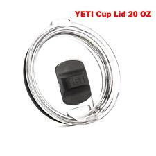 20 oz Splash Spill Proof Magnetic Slider Lid for Yeti Rambler Tumbler Cup Usa