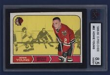 1968-69 O-Pee-Chee HOWIE YOUNG #82 KSA 8.5 NMM+ Chicago Blackhawks !!