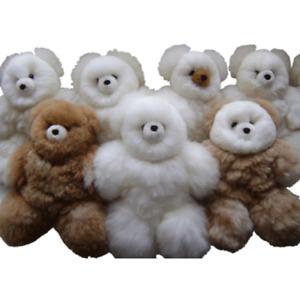 "WHOLESALE LOT OF 10 ADORABLE ALPACA TEDDY BEARS 13"" TALL"