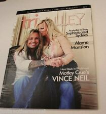 Vince Neil wife Lia Motley Crue Magazine Cover 2007 Htf Tri Valley House New