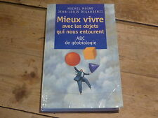 MIEUX VIVRE AVEC LES OBJETS QUI NOUS ENTOURENT - Livre !! PAR MICHEL MOINE !!!