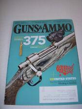GUNS & AMMO Magazine, September, 2015, MOSSBERG .375 TACTICAL WALLS TO HIDE GUNS