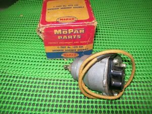 1952 1953 1954 Plymouth Dodge DeSoto NOS MoPar TRANSMISSION OVERDRIVE GOVERNOR
