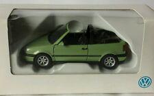 VW Golf 3 Cabrio 1:43 in hellgrün von Schabak für VW orig. VW Verpackung