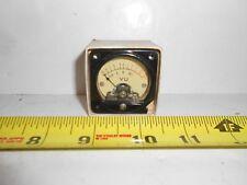 Vintage Analog Panel VU Meter Audio Level Meter