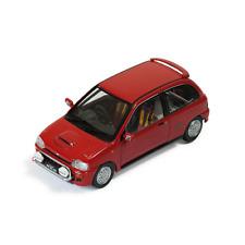 SUBARU VIVIO RX-R 1993 RED 1:43 Ixo Model Auto Stradali Die Cast Modellino