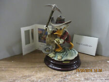 Carl Barks Scrooge McDuck - Eureka!  -  Porzelan Figur  Giuseppe Armani