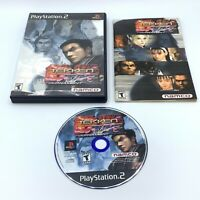 Tekken Tag Tournament (Sony PlayStation 2, 2002) PS2 Complete Black Label CIB