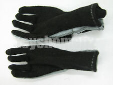 1:6 scale HOT TOYS USMC BLACK COMBAT GLOVES