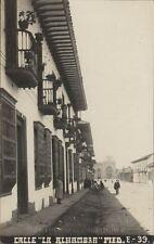 COLOMBIA MEDELLIN CALLE LA ALHAMBRA E39 REAL PHOTO FOT. OBANDO